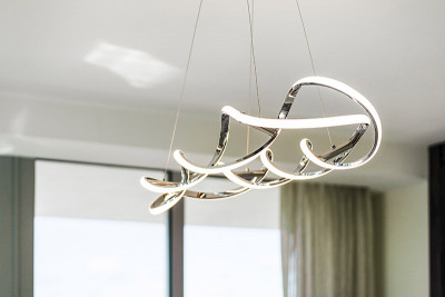 Amrit custom contemporary dining room chandelier