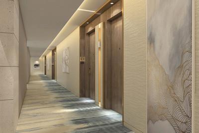 Amrit resort hallway
