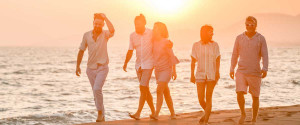 Amrit Ocean Resort and Residences | Walking is good for health.